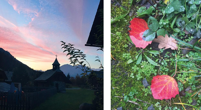 Herbst am Moserhof