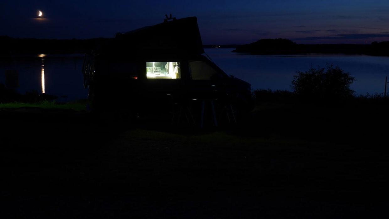 Campingbus in Schweden