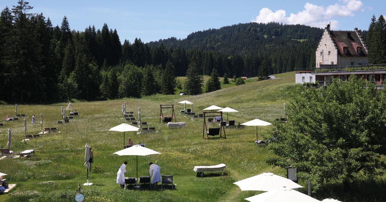 Liegewiese im Kranzbach