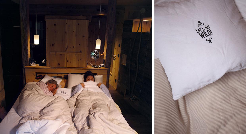Betten im mama thresl