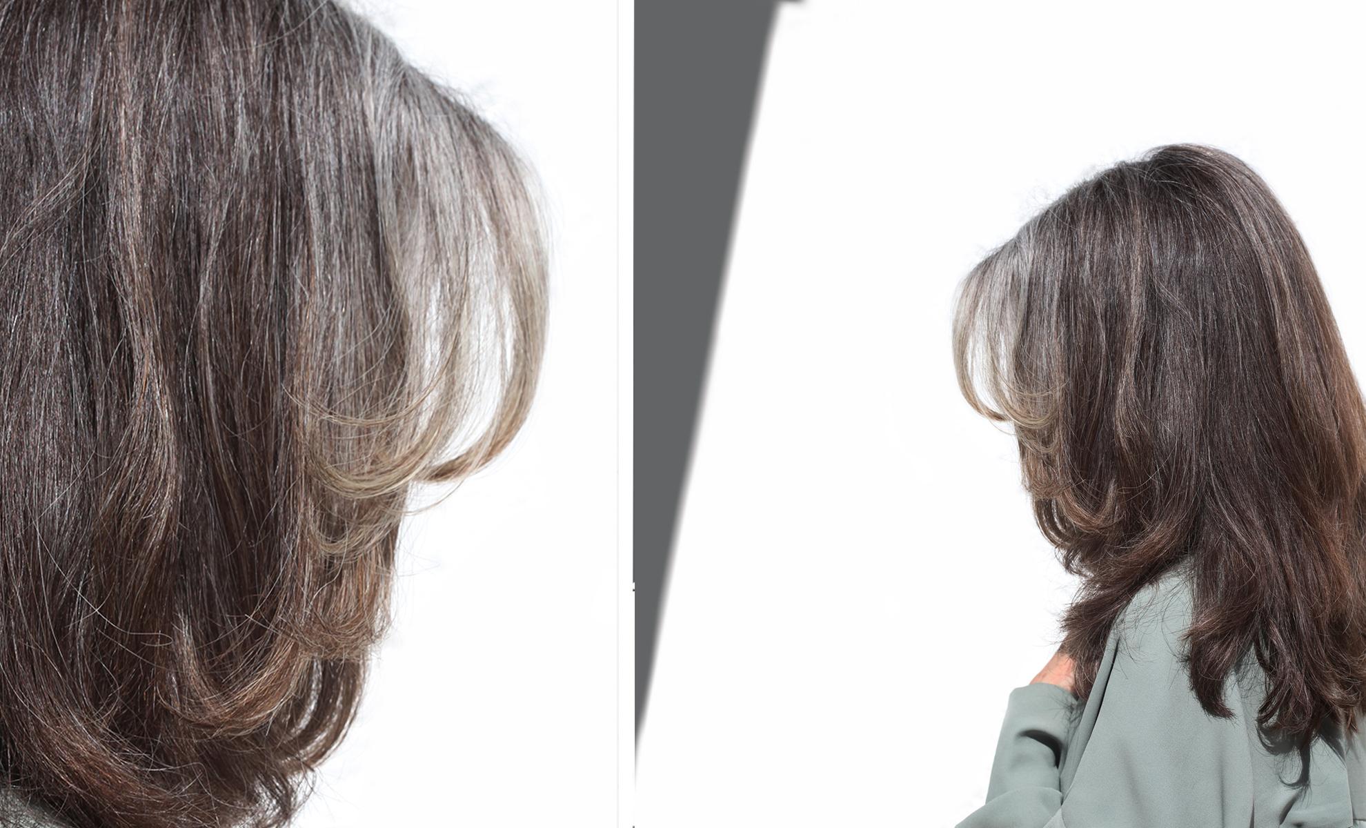 offene Haare