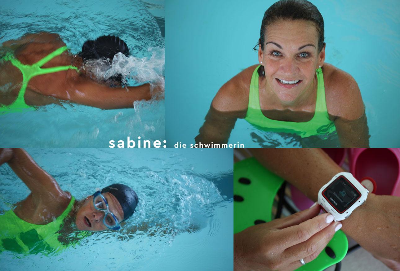 schwimmen training