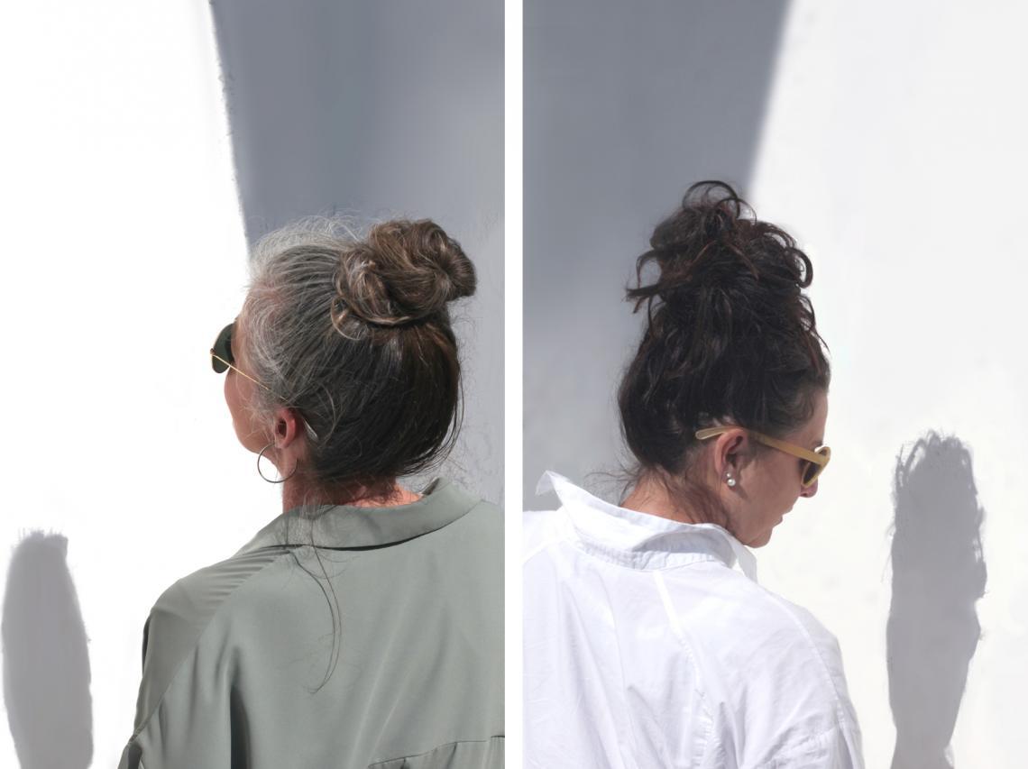 Machen strähnchen graue haare Graue Haare