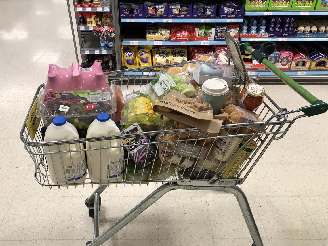 Einkaufen in England