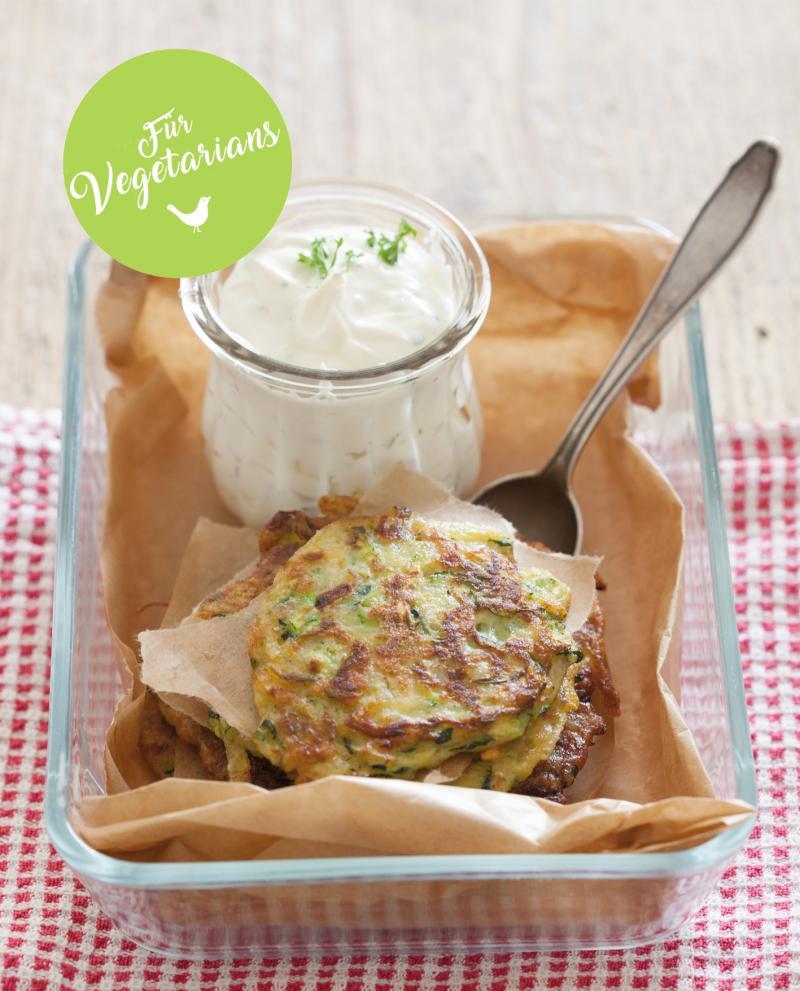 Zucchini-Kartoffel-Bratlinge