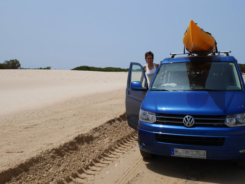 Mit dem Campingbus durch Spanien